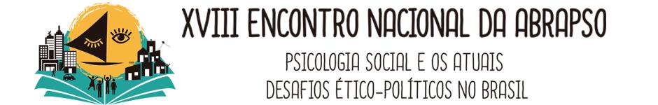 XVIII ENCONTRO NACIONAL DA ABRAPSO